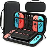 HEYSTOP Carry Case Compatible with Nintendo Switch & 2021 OLED Model Switch Protective Hard Portable Travel Carry Case Shell