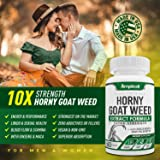 Amplicell Horny Goat Weed Extract | with Maca Root, Tongkat Ali, L Arginine & Ginseng | Enhanced Energy & Performance for Men and Women | Natural Herbal Supplements | 60 Vegetarian Capsules