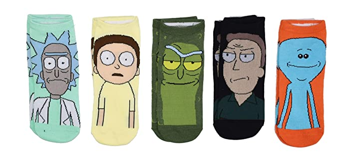 Amazon.com: Rick and Morty Pickle Rick Jerry Meeseeks ...