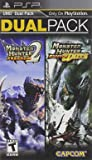 Monster Hunter Freedom 2 and Freedom Unite Dual Pack PSP - PlayStation Portable