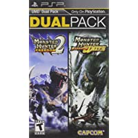 Monster Hunter Freedom 2 and Freedom Unite Dual Pack PSP - PlayStation Portable - Standard Edition