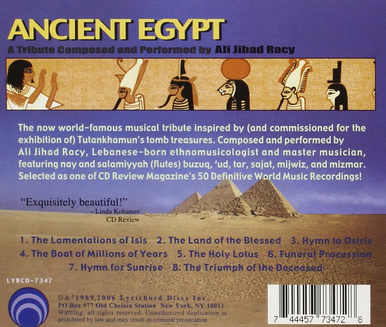 Ancient Egypt by Lyrichord