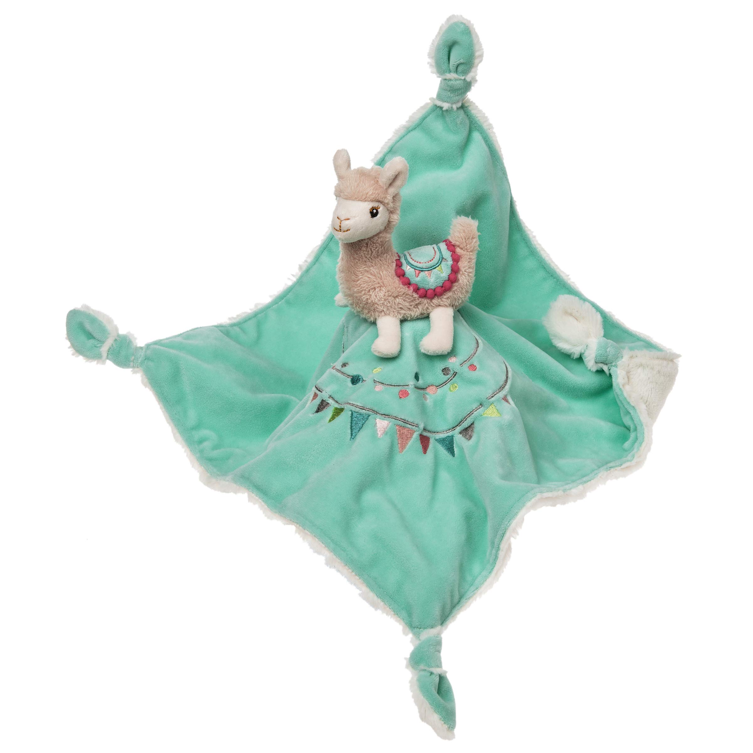 Mary Meyer Baby Lily Llama Character Blanket 13''x13'' by Mary Meyer