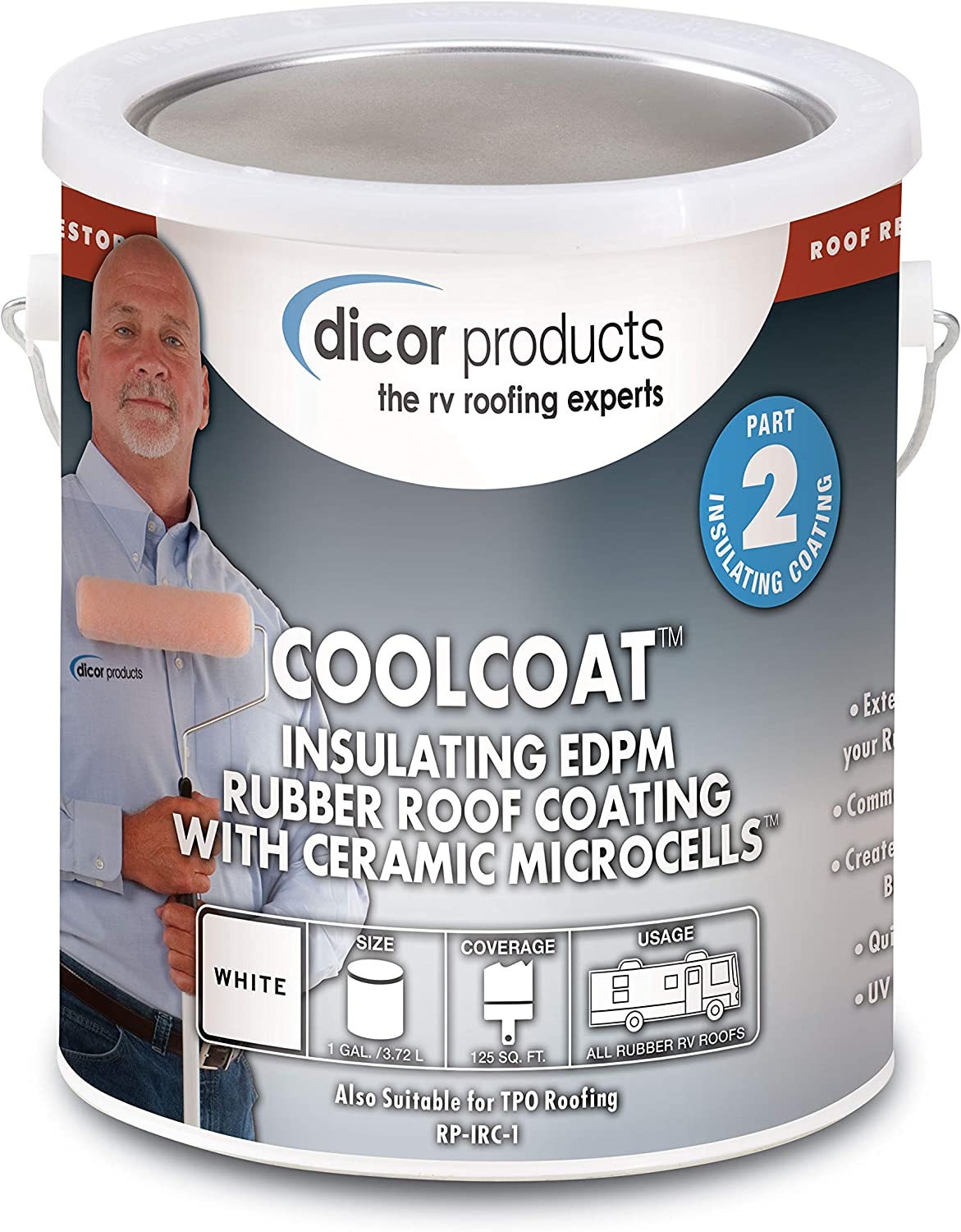 Dicor Corporation RP-IRC-1 Coolcoat Insulated Coating 81zPOXvQu7LSL1500_