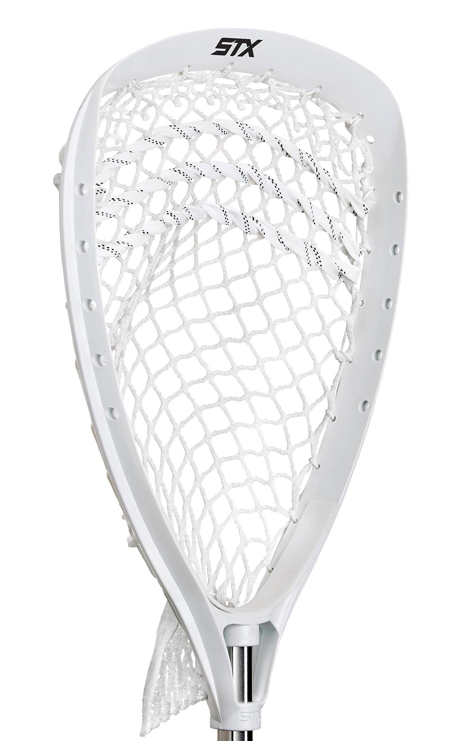 STX Lacrosse Shield 100 Goalie Strung Head, White