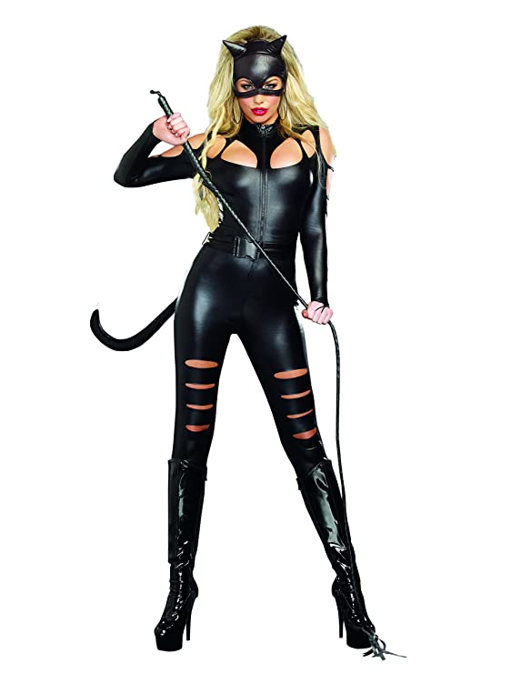 sc 1 st  Amazon.com & Amazon.com: Dreamgirl Womenu0027s Catwoman Costume: Clothing