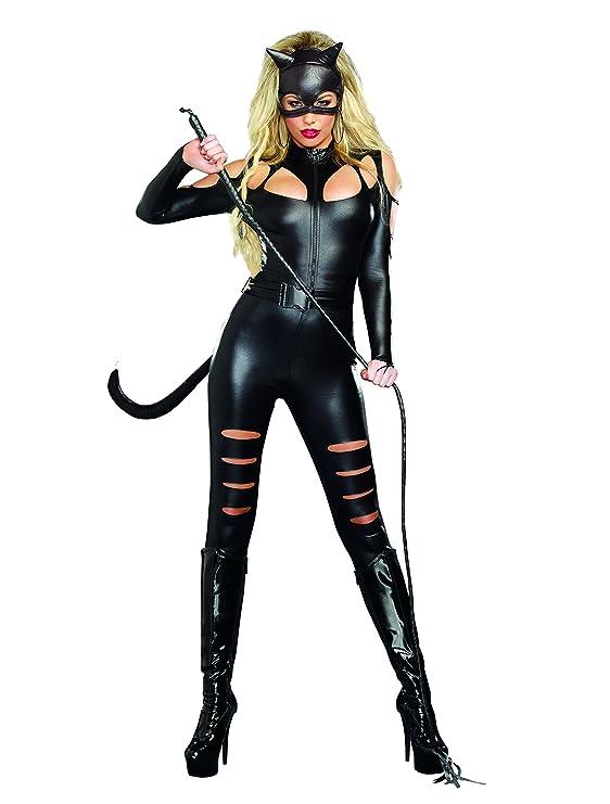 Amazon.com: Dreamgirl Women\'s Catwoman Costume: Clothing