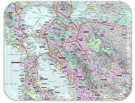 Amazoncom San Francisco Bay Area Street Map TV Dinner Tray