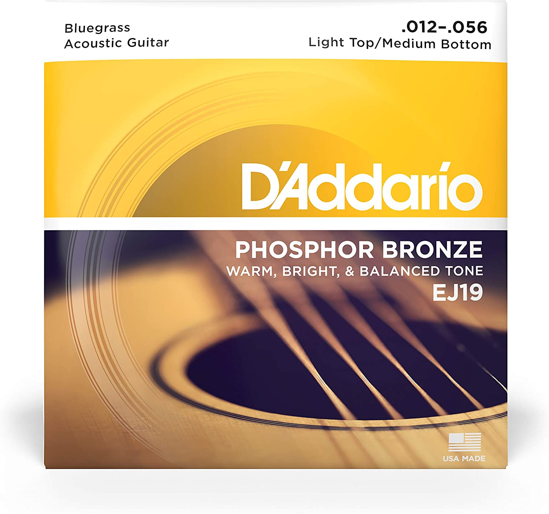 DAddario EJ19 - Juego de cuerdas para guitarra acústica y ...