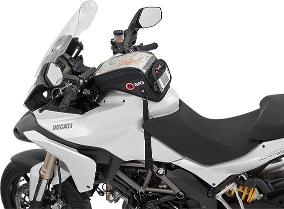 Multipurpose QBag Aimant de Sac de R/éservoir de Moto sacoche de r/éservoir 09 aimant//courroies 6 litres toute lann/ée noir Unisexe