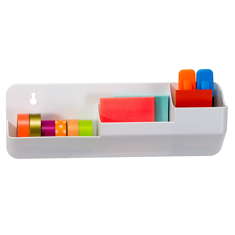 Amazon.com : Officemate Magnet Plus Magnetic Supplies Organizer, 3 ...