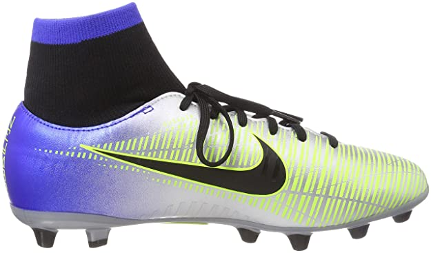 newest 132be 42f24 Nike Jr Mercurial Vctry6 DF NJR Agp, Zapatillas de Deporte Unisex Adulto,  (Racer Blue Black-Chr 407), 38.5 EU  Amazon.es  Zapatos y complementos