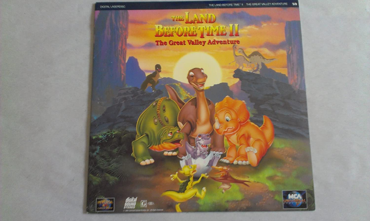 Amazon Com The Land Before Time Ii The Great Valley Adventure Laserdisc Ld Not Dvd Movies Tv