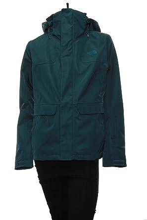 c4e1dfeca Amazon.com: The North Face Women's Helata Triclimate Jacket Blue ...