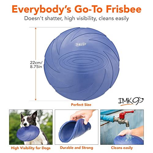 Frisbee Toy - for Small, Medium, or Large Dogs