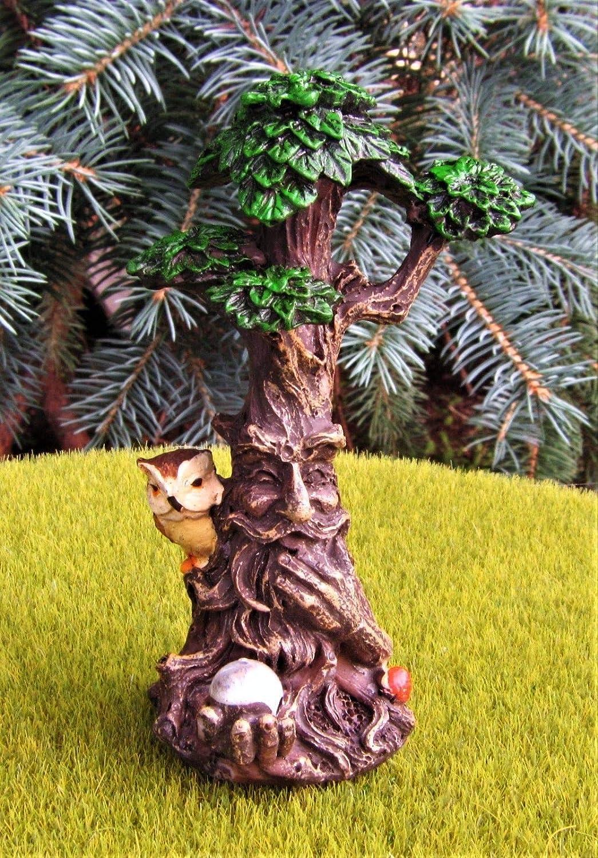 "Set of 3 Blue Spruce Trees 4/"" tall Miniature Dollhouse Fairy Garden"