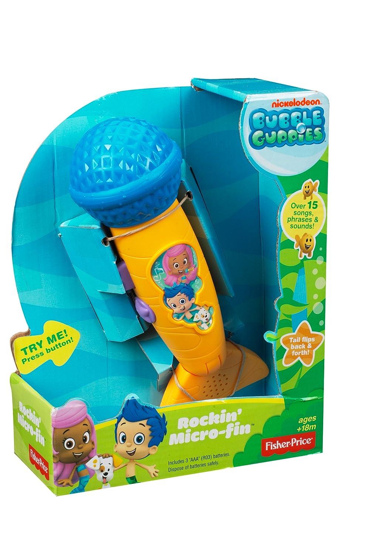 bubble guppies microphone amazon co uk toys u0026 games