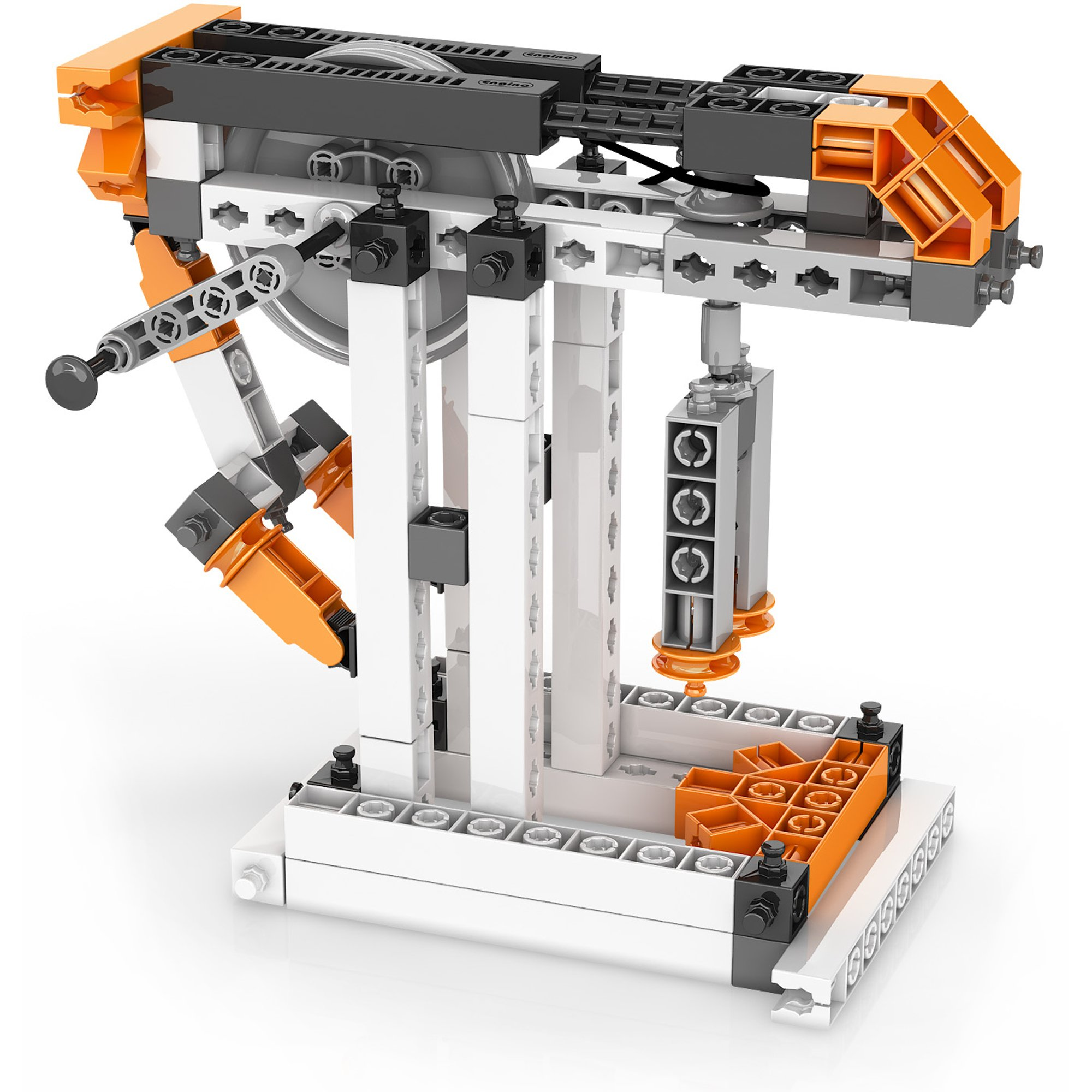 Engino Discovering STEM Simple Machines Mechanisms That Multiply Force Construction Kit by Engino (Image #3)