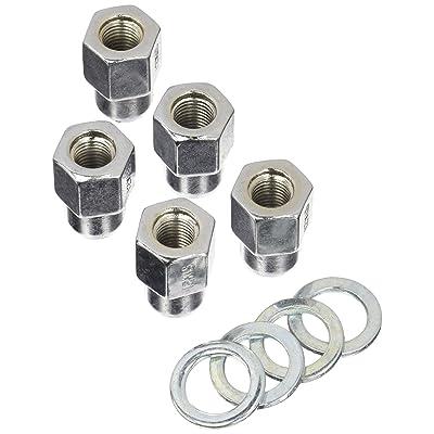 Weld Racing 601-1452 Lug Nuts 12mm x 1.5 RH Open End w/Washers (5pk): Automotive