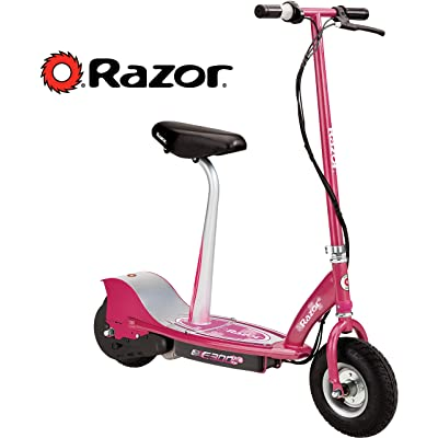 Razor E300S Seated Electric Scooter - Sweet Pea : Seated Sports Scooters : Sports & Outdoors