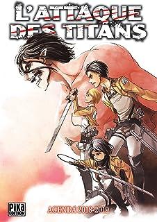 Agenda lattaque des Titans 2017-2018 (YNI.LIVRES): Amazon ...