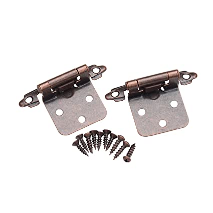 overlay cabinet hinges adjustable east west consolidated 495orb25 self closing variable overlay cabinet hinges oil rubbed bronze