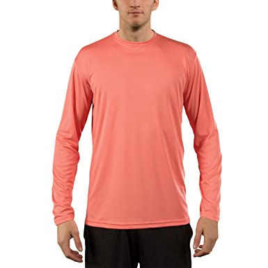 3cd426187a1 Vapor Apparel Men's UPF 50+ UV Sun Protection Performance Long Sleeve T- Shirt X