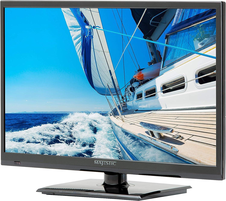 Televisor LED HD de 12 V de Majestic Version 15,6 pulgadas HD 12 V ...