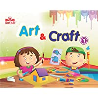 Gikso Art and Craft 1 – Activity Book for Kids Age 4 to 7 Years Old Includes Colouring and Sticker Activities