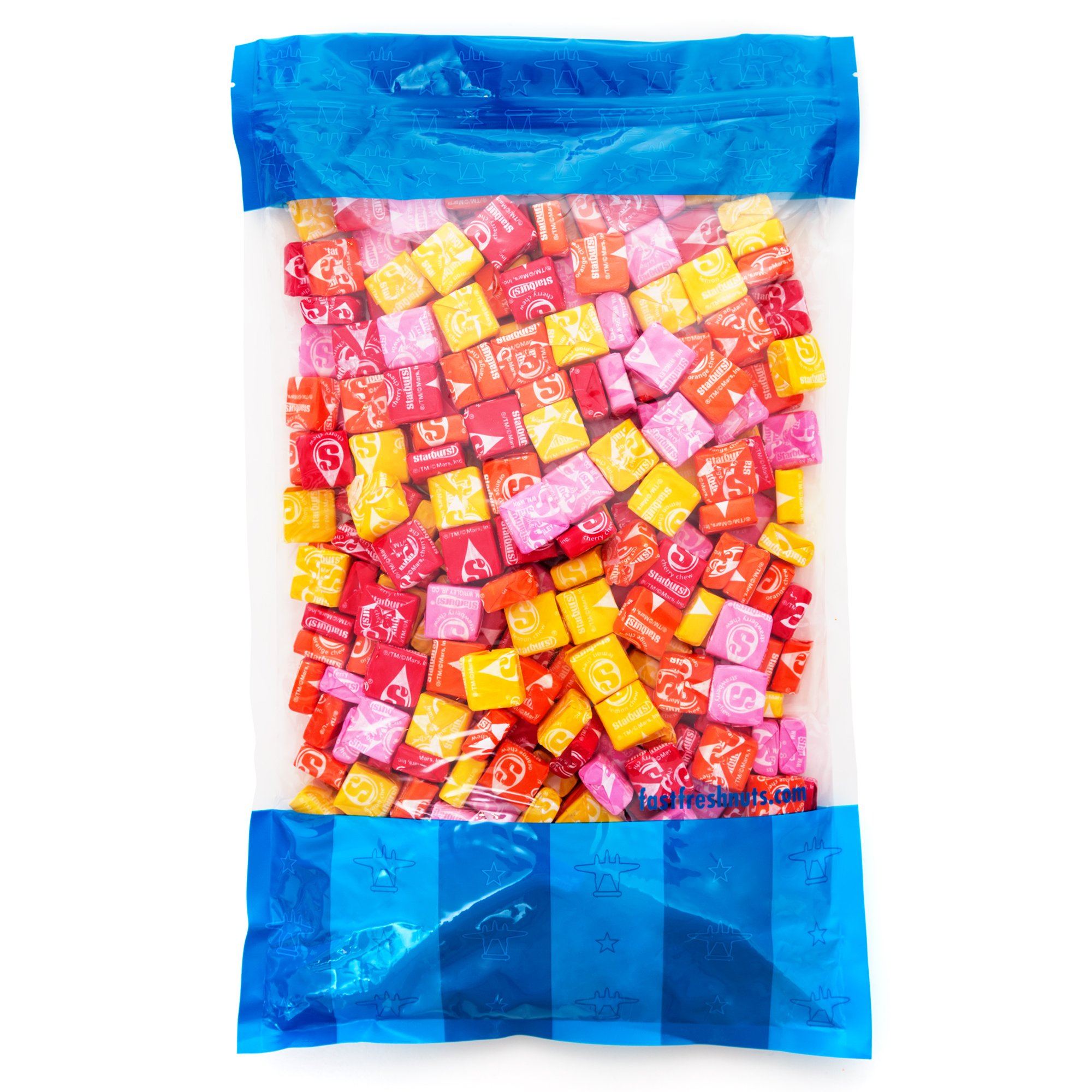 Bulk Starburst Original Fruit Chews in a Resealable Bomber Bag - 7 lbs - Wholesale Candy - Perfect for Office Candy Bowls - Parties - Holidays - Vending