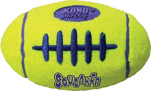 KONG - AirDog Squeaker Football - Juguete sonoro y saltarín ...