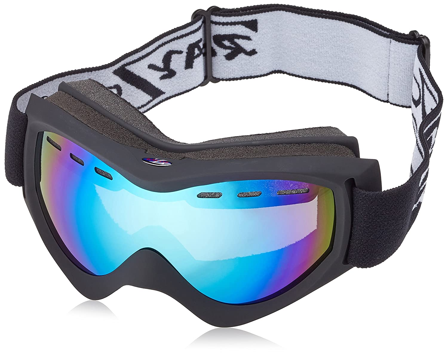 snowboard goggles sale 1jii  Rayzor Professional UV400 Double Lensed Ski / SnowBoard Goggles, With a  Matt Black Frame and an Anti Fog Coated, Vented Blue Iridium