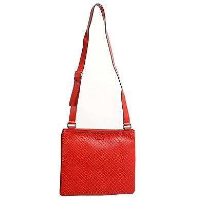 f72ebf524 Amazon.com: Gucci 100% Leather Red Women's Cross Body Shoulder Bag: Shoes