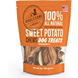 Wholesome Pride Pet Treats New Sweet Potato Chews Dog Treats - 16oz - Grain Free, All Natural, Vegetarian, Made in The USA …