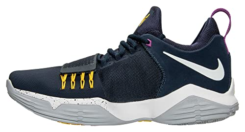 outlet store sale ba6e6 05789 Nike Mens PG1 The Bait Paul George ObsidianWhiteGold 878627 417