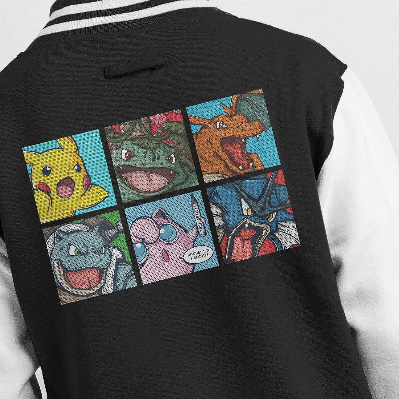 Pokemon Popart Men's Varsity Jacket