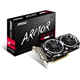 MSI GAMING Radeon RX 470 GDDR5 4GB CrossFire FinFET DirectX 12 Graphics Card (RX 470 ARMOR 4G OC)