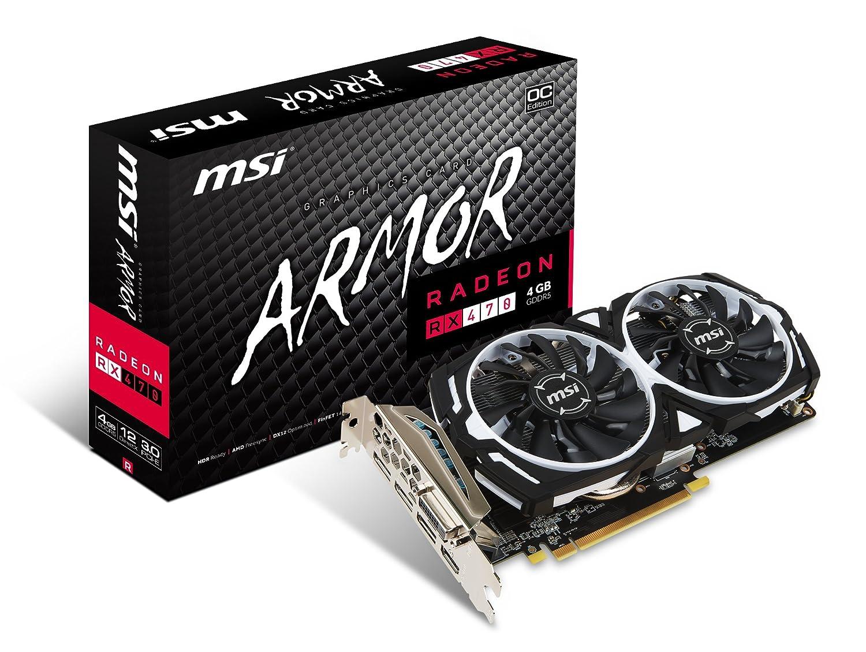 MSI Radeon RX 470 ARMOR 4G OC