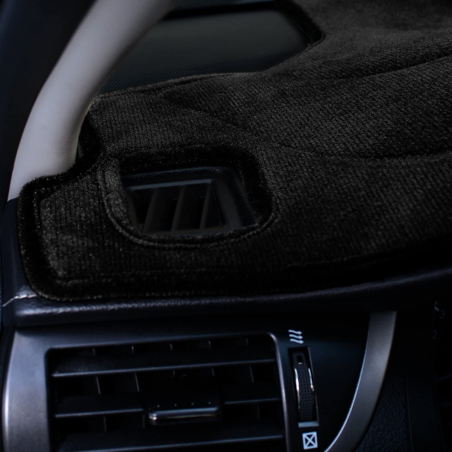 Gray Coverking Custom Fit Dashcovers for Select Toyota Solara Models Poly Carpet