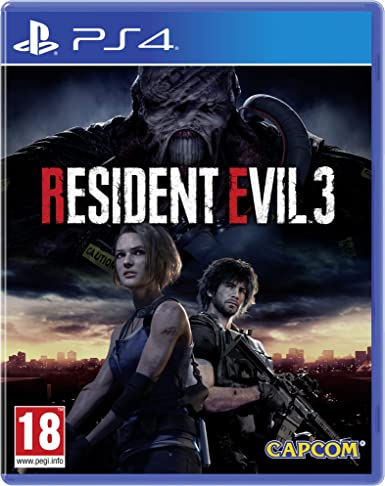 Resident Evil 3 with Stickers (Exclusive to Amazon.co.UK ...