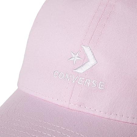 Converse Gorra Stacked Logo Rosa - TU
