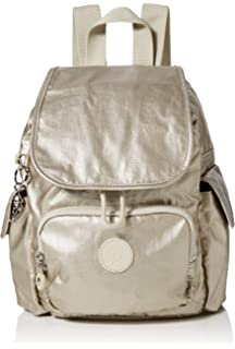 Kipling Firefly Up, Mochila para Mujer, gris, 22x31x14 cm: Amazon ...
