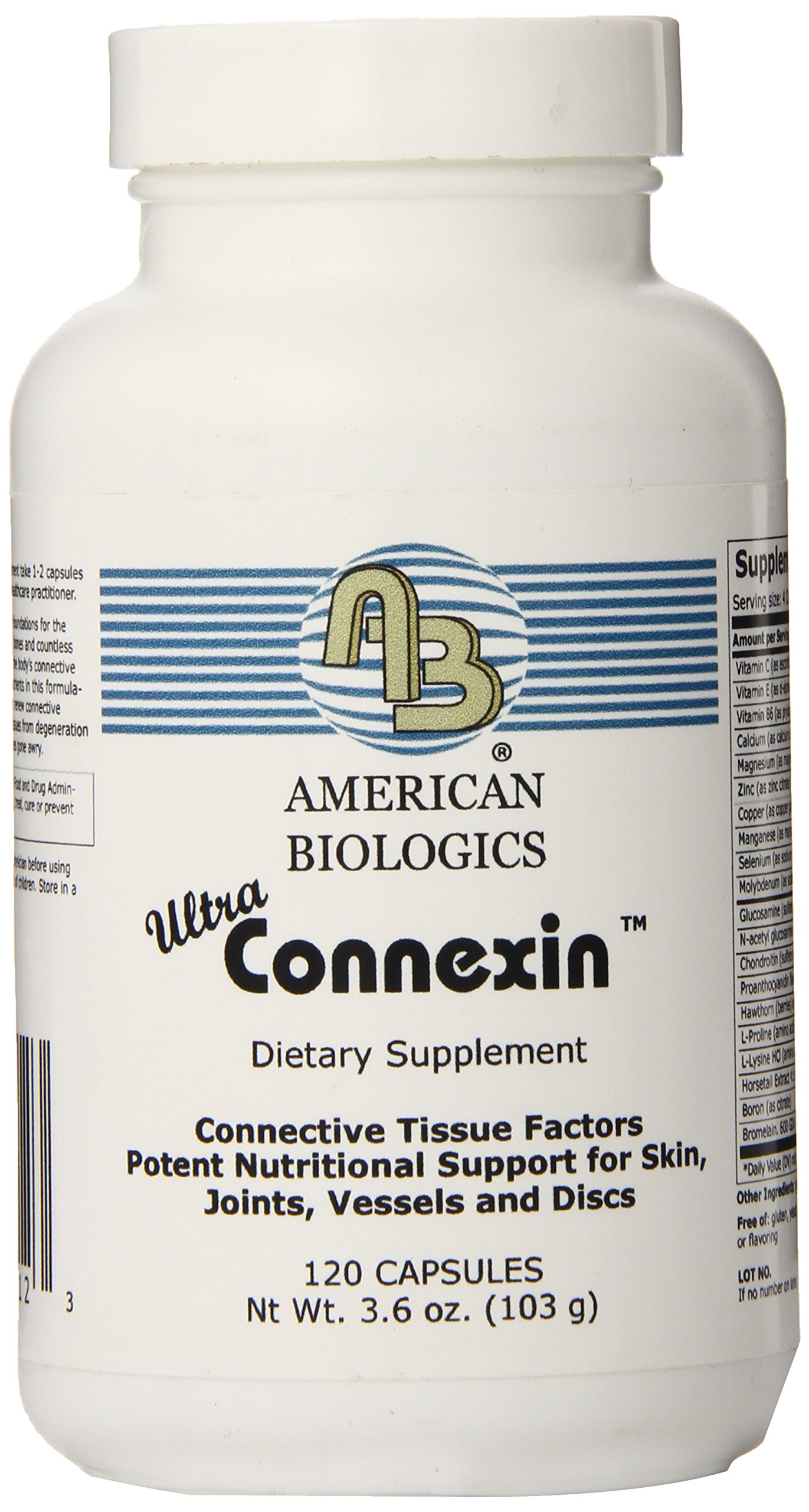 American Biologics Connexin Capsules, 120 Count