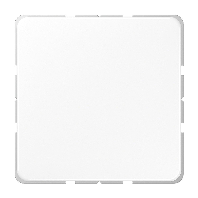 JUNG CD 594-0 WW Blanco tapa de seguridad para enchufe - Tapas de seguridad para enchufes (Blanco, Termoplá stico) Termoplástico) CD594-0WW