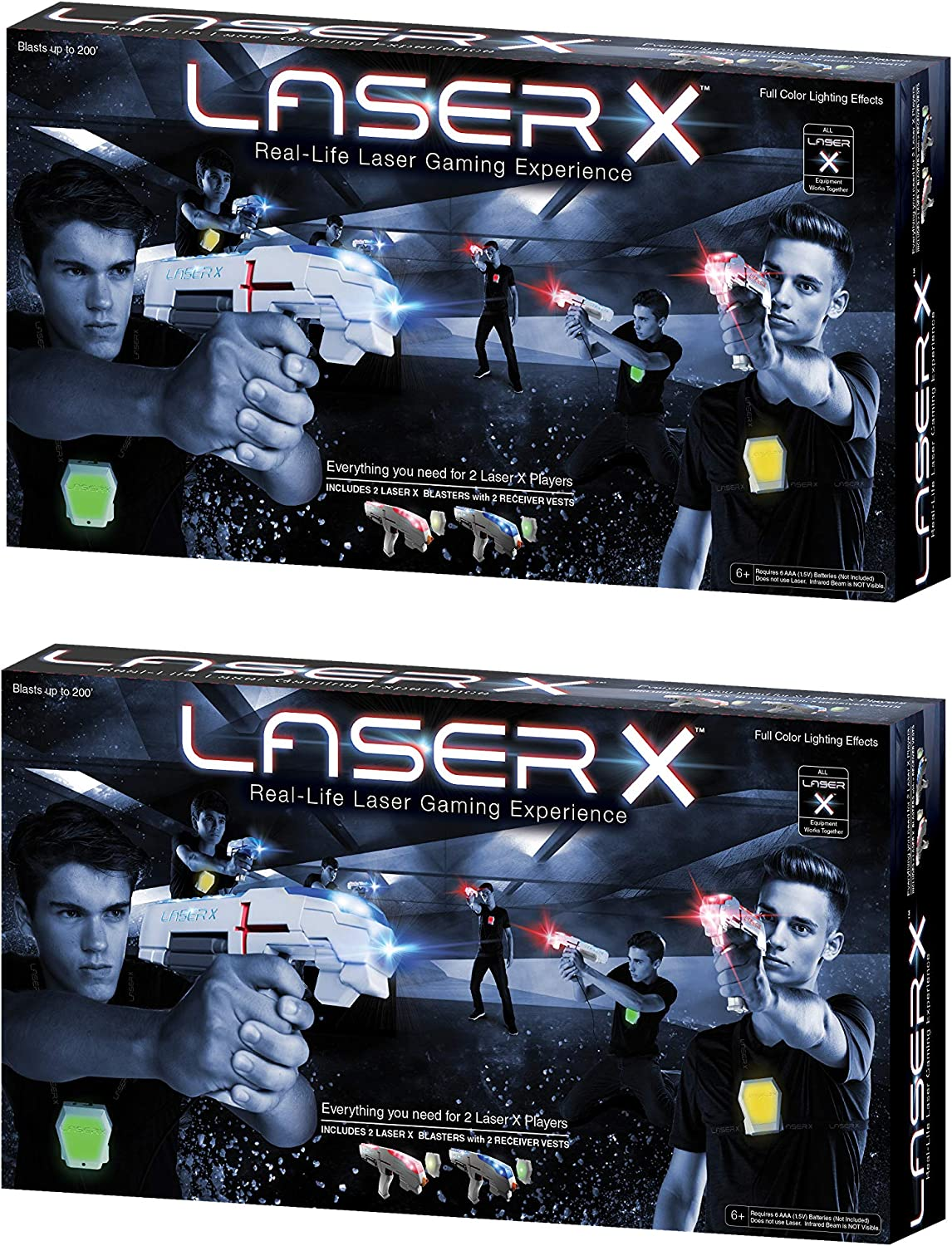 Laser X 88016 Two Player Laser Gaming Set (Various Quantities) (4 Player)