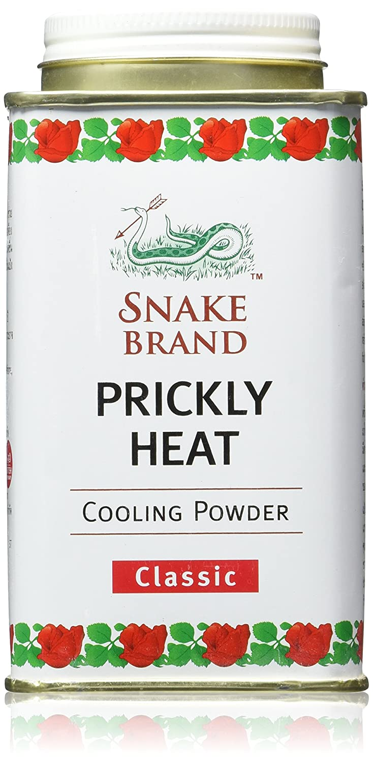 Snake Brand Prickly Heat Cooling Powder, 2-pack (Classic, 150g) by Snake Brand
