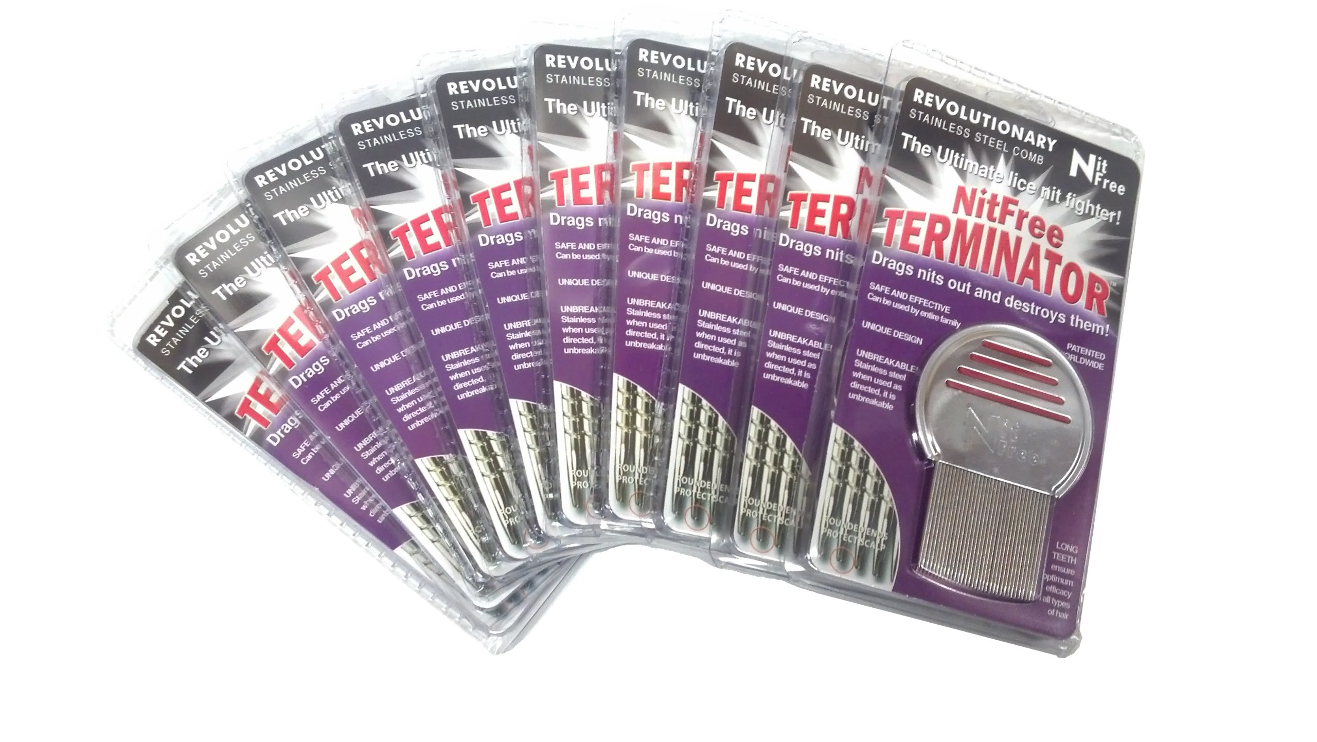 Nit Free Terminator Lice Comb (48-Pack) by Nit Free