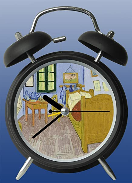 Amazon.com: Van Gogh Bedroom at Arles Bell Alarm Clock ...