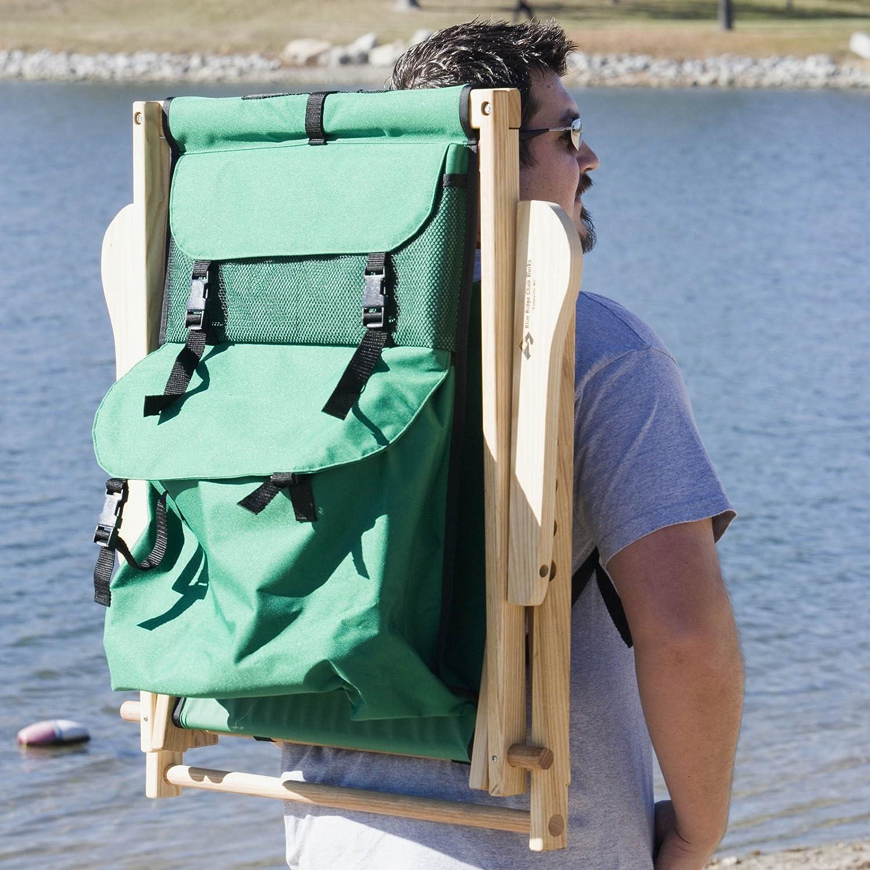 Elegant Amazon.com : Back Pack Folding Beach Chair Fabric: Forest Green : Camping  Chairs : Patio, Lawn U0026 Garden Good Ideas