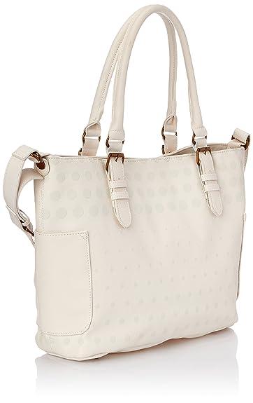 Desigual SAINT TROPEZ WHITE 52X50A21000U Damen Schultertaschen 33x28x13 cm (B  x H x T), Weiß (Blanco 1000): Amazon.de: Schuhe & Handtaschen